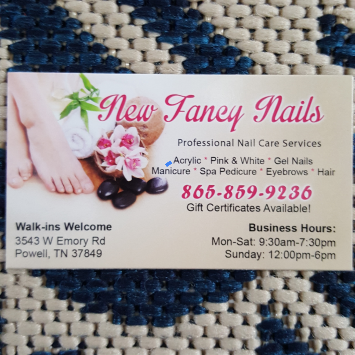 New Fancy Nails, 3543 West Emory Road, Powell, Reviews and ...
