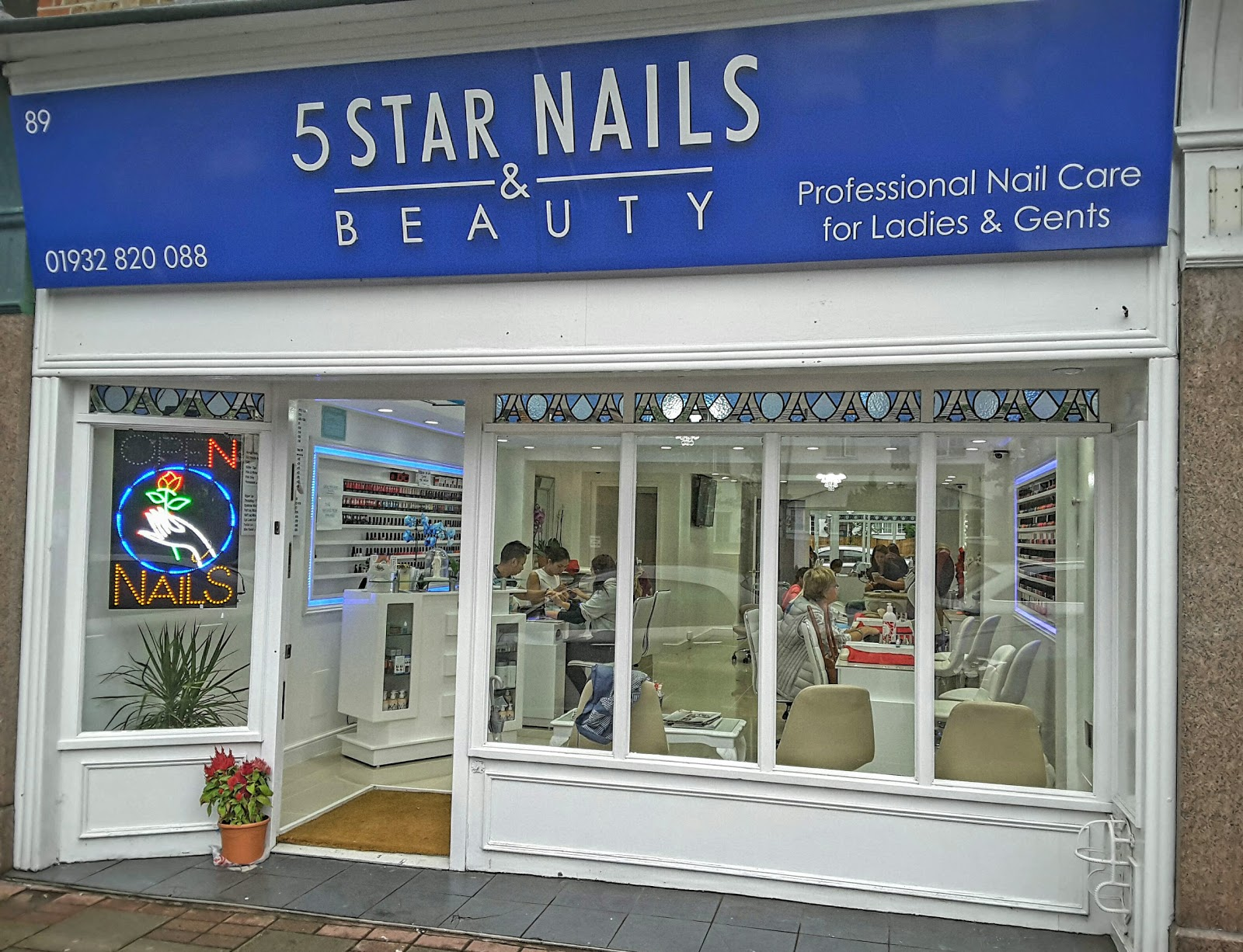 5 Star Nails and beauty, 89 Queens Road, Weybridge, Reviews and ...