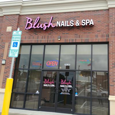 Blush Nails Spa 2915 Battleground Avenue Greensboro Reviews And