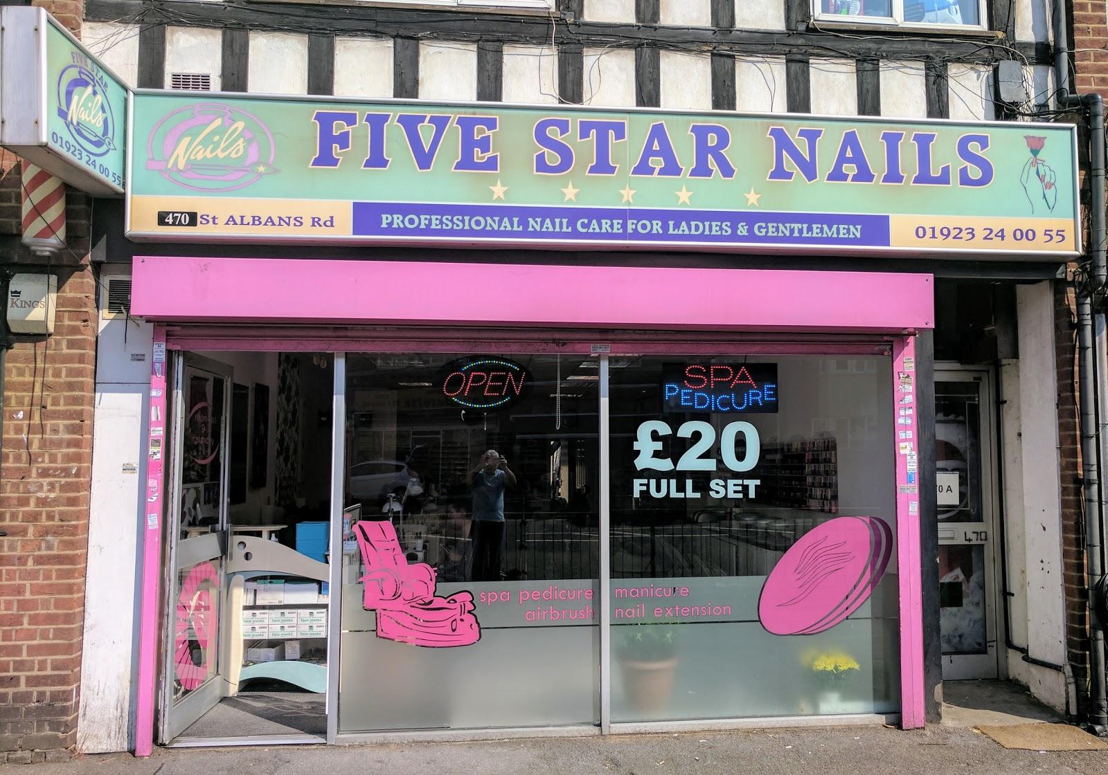 Five Star Nails, 470 Saint Albans Road, Watford, Reviews and ...