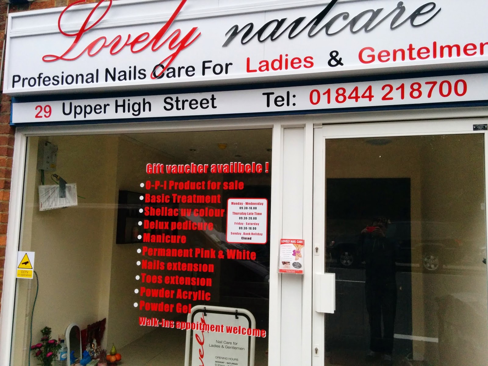 Lovely Nail Care Ltd, 55 North Street, Thame, Reviews and ...
