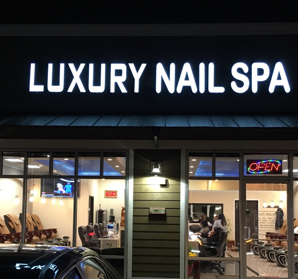 Luxury Nail Spa NW, 13038 Interurban Avenue South, Tukwila, Reviews ...