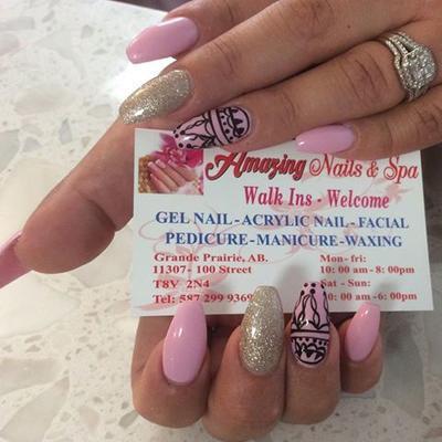 Amazing Nails & Spa, 11307 100 Street, Grande Prairie